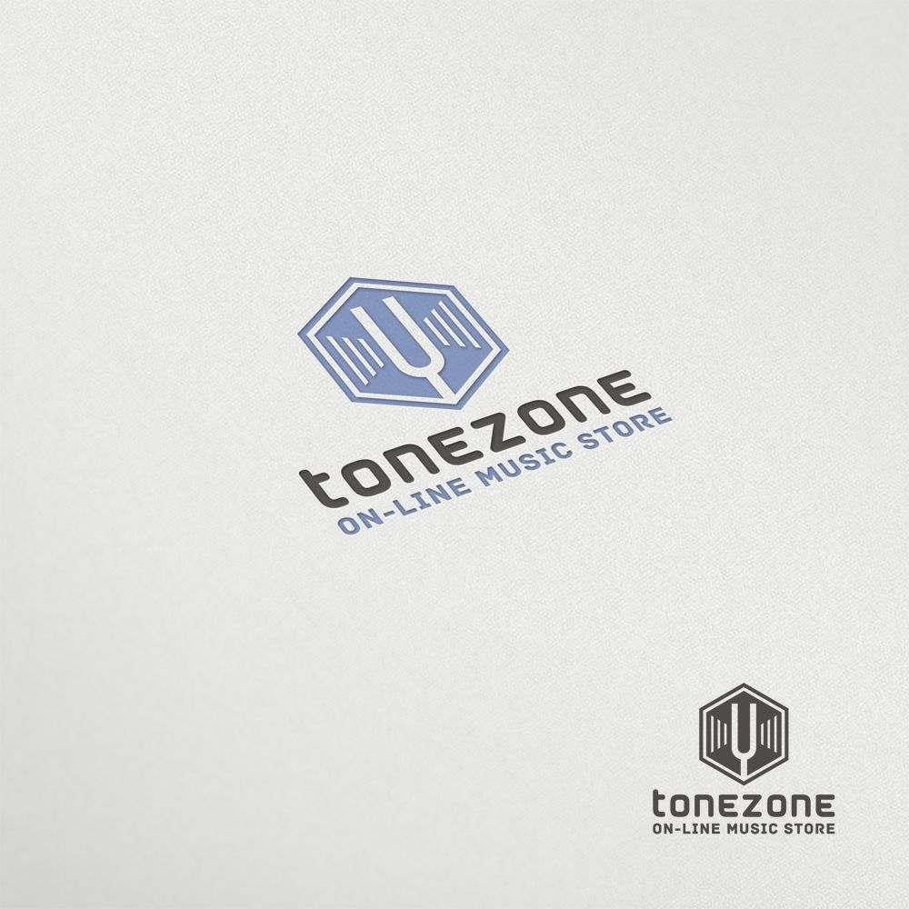 Лого и фирм. стиль инет-магазина муз. инструментов - дизайнер mz777