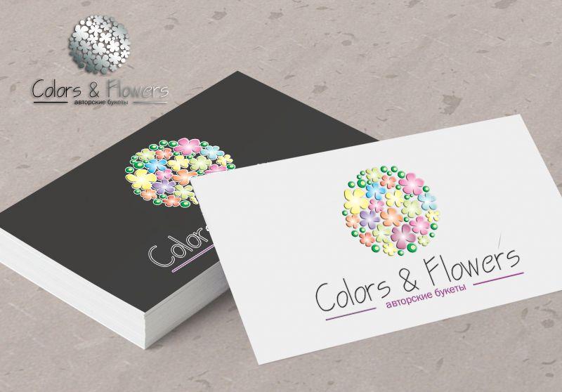 Colors & Flowers Логотип и фирменный стиль - дизайнер Julia_Design