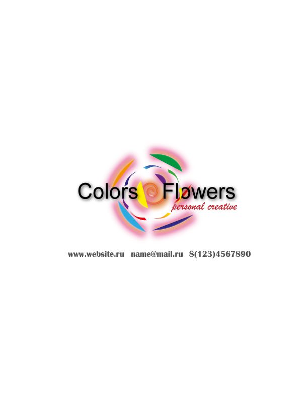 Colors & Flowers Логотип и фирменный стиль - дизайнер Yuliya