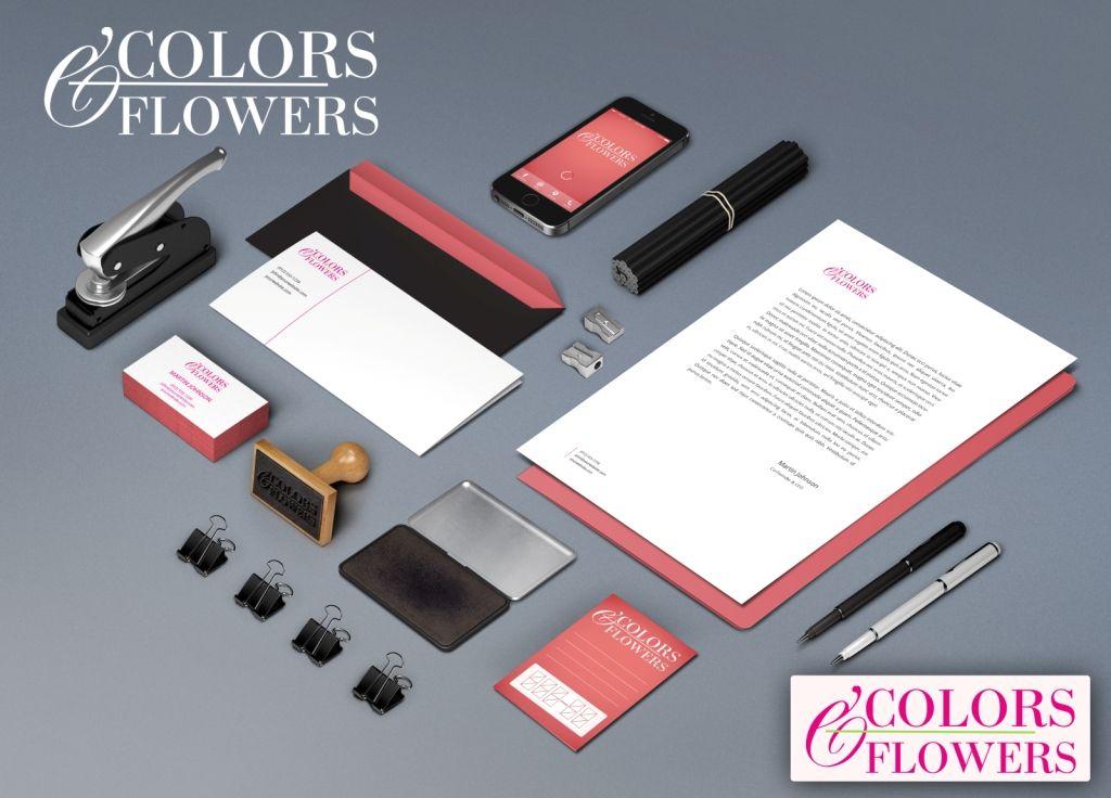 Colors & Flowers Логотип и фирменный стиль - дизайнер NadegdaIvakaeva