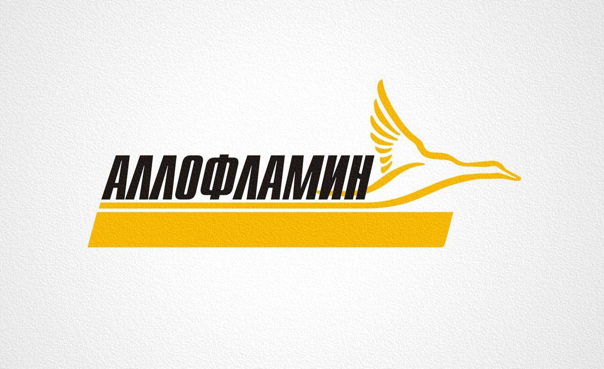 Логотип препарата Аллофламин - дизайнер Zheravin