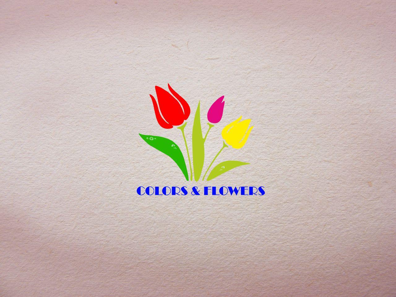 Colors & Flowers Логотип и фирменный стиль - дизайнер khanman