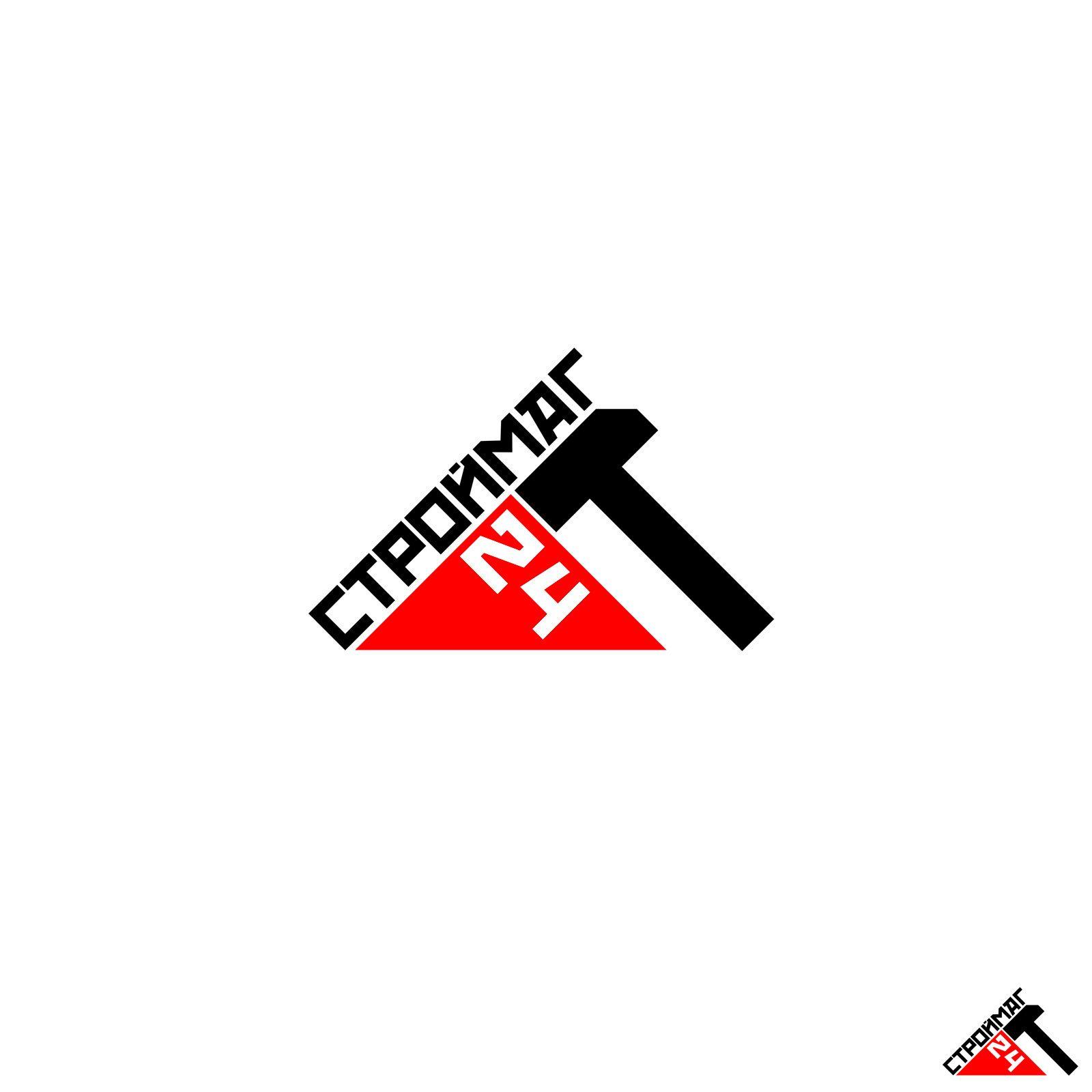Лого и фирм стиль для Строймаг24 - дизайнер stason2008