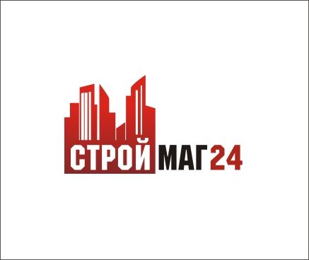 Лого и фирм стиль для Строймаг24 - дизайнер madamdesign