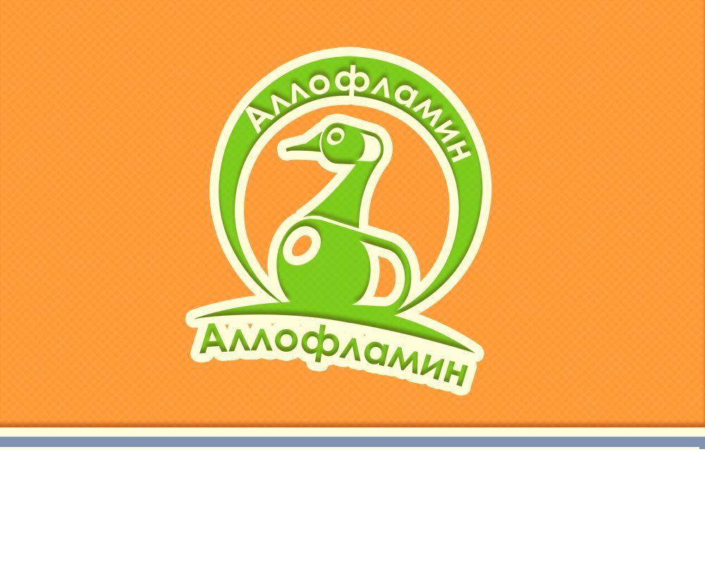 Логотип препарата Аллофламин - дизайнер markosov