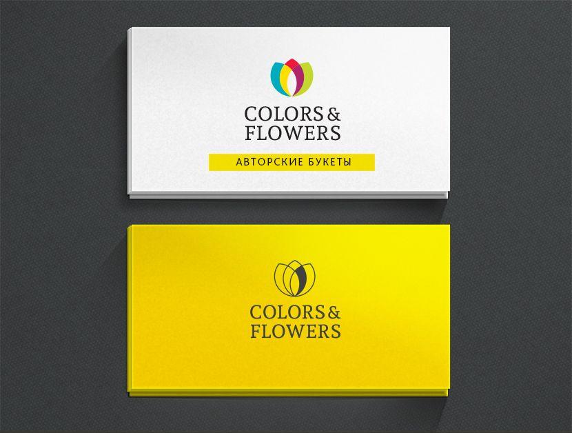 Colors & Flowers Логотип и фирменный стиль - дизайнер pandart