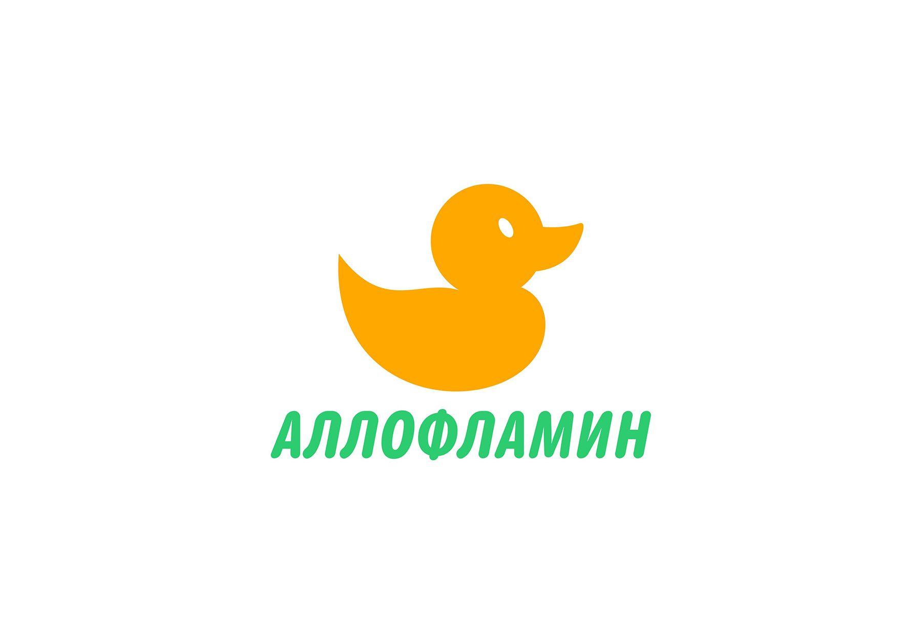 Логотип препарата Аллофламин - дизайнер yuriy8866