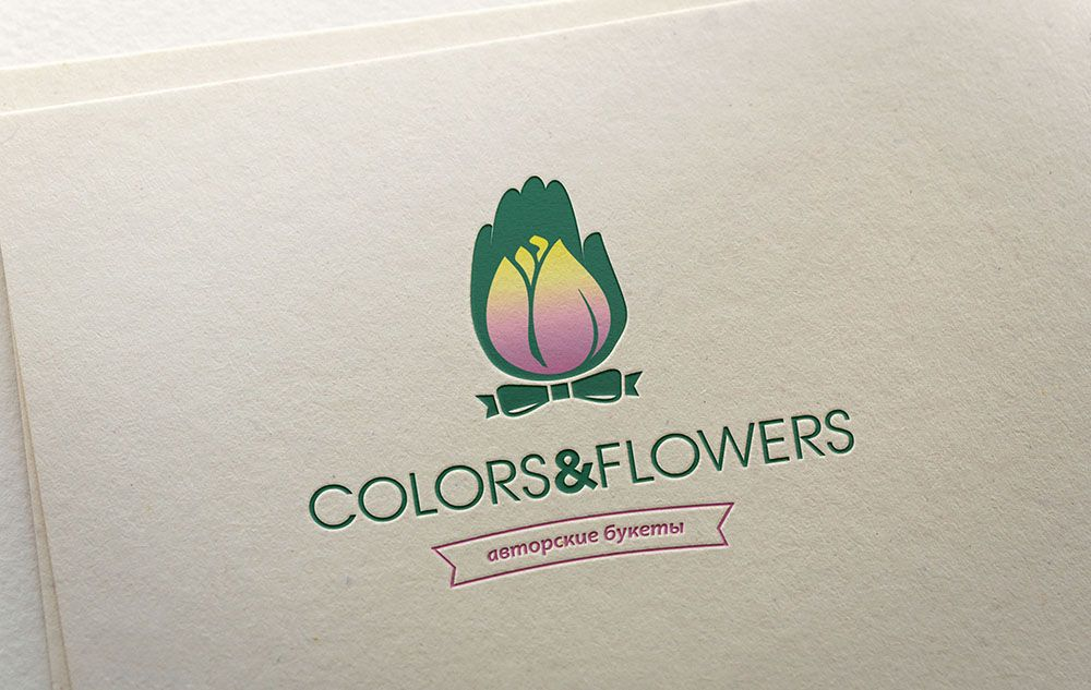 Colors & Flowers Логотип и фирменный стиль - дизайнер Minta