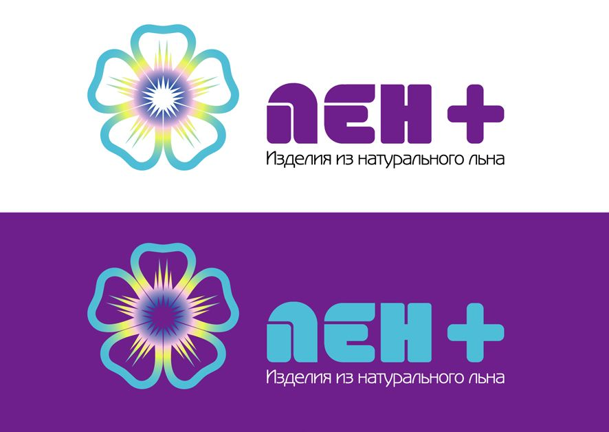 Логотип интернет-магазина ЛенПлюс - дизайнер Krakazjava