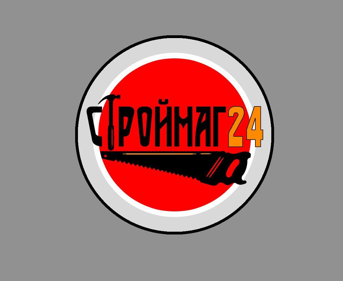 Лого и фирм стиль для Строймаг24 - дизайнер recordmanager