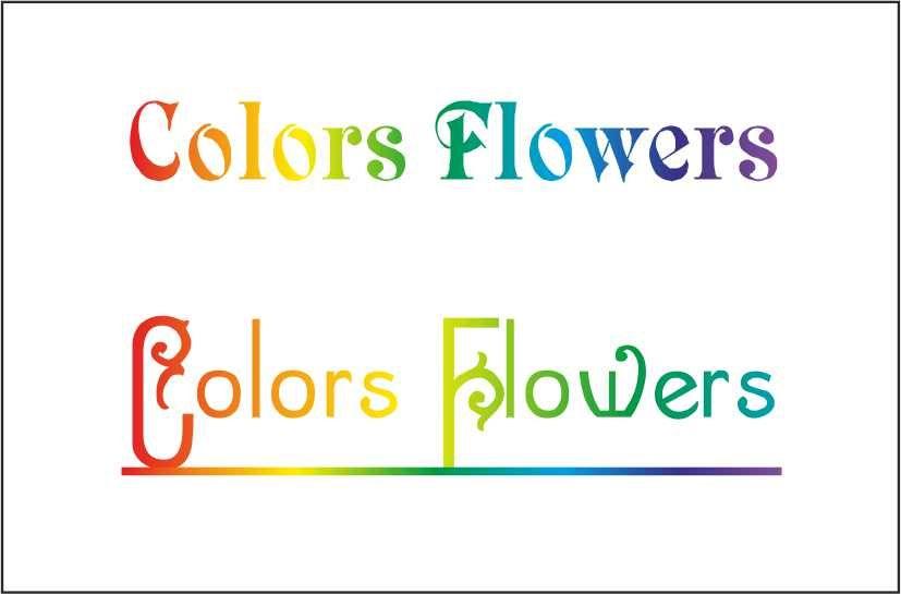 Colors & Flowers Логотип и фирменный стиль - дизайнер jeniulka