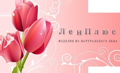 Логотип интернет-магазина ЛенПлюс - дизайнер web_fl