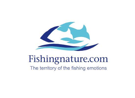 Лого он-лайн фотожурнала о рыболовстве и природе - дизайнер web_fl