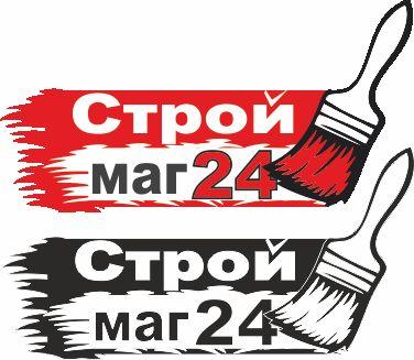 Лого и фирм стиль для Строймаг24 - дизайнер aix23