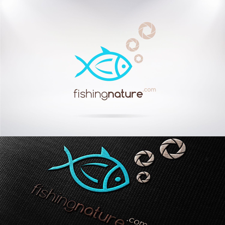 Лого он-лайн фотожурнала о рыболовстве и природе - дизайнер Nostr