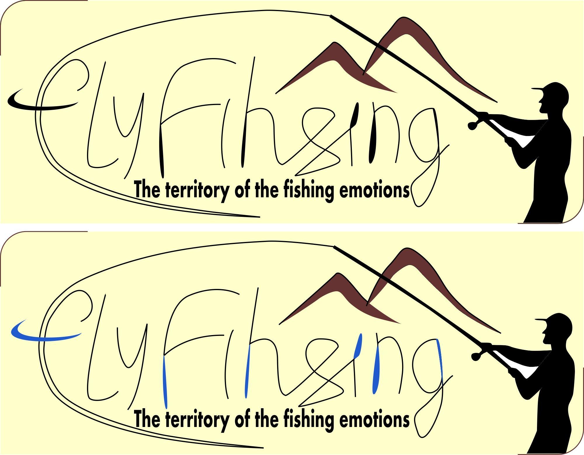Лого он-лайн фотожурнала о рыболовстве и природе - дизайнер saniams