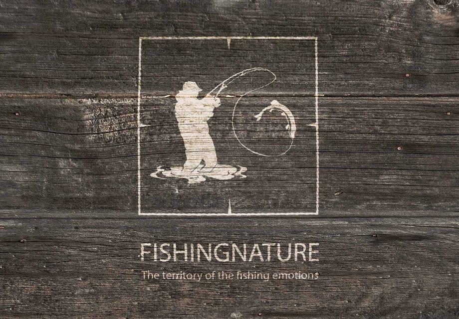 Лого он-лайн фотожурнала о рыболовстве и природе - дизайнер Nataliya