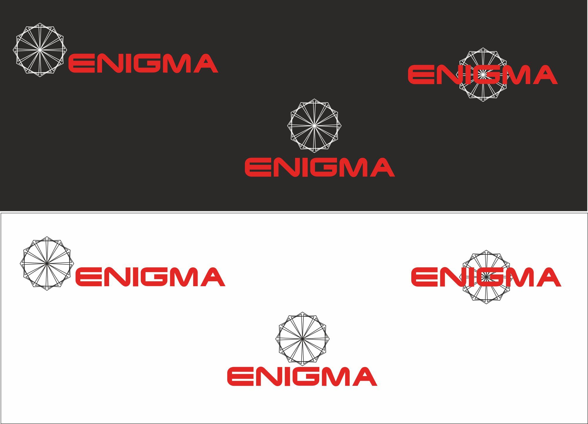 Логотип и фирмстиль для Enigma - дизайнер ThCat