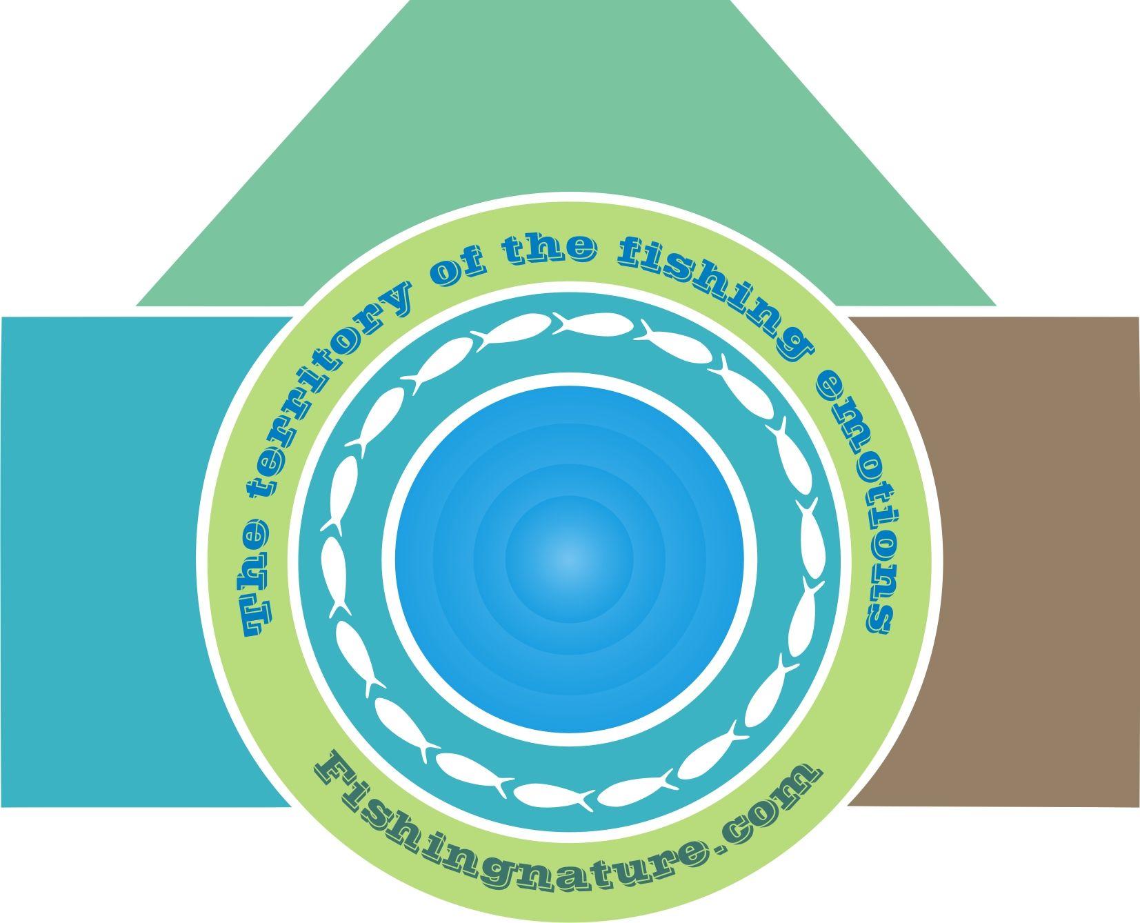 Лого он-лайн фотожурнала о рыболовстве и природе - дизайнер trankvi