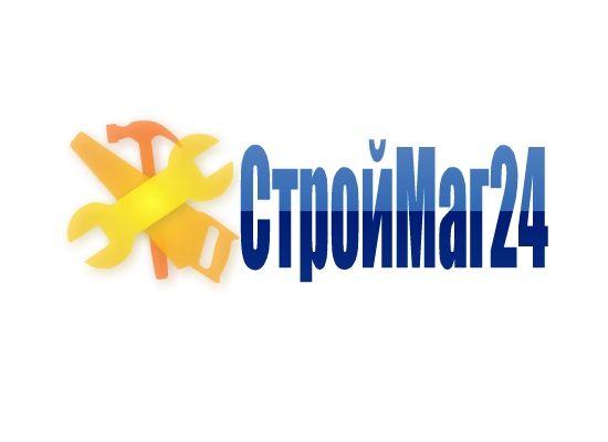 Лого и фирм стиль для Строймаг24 - дизайнер Colombina32