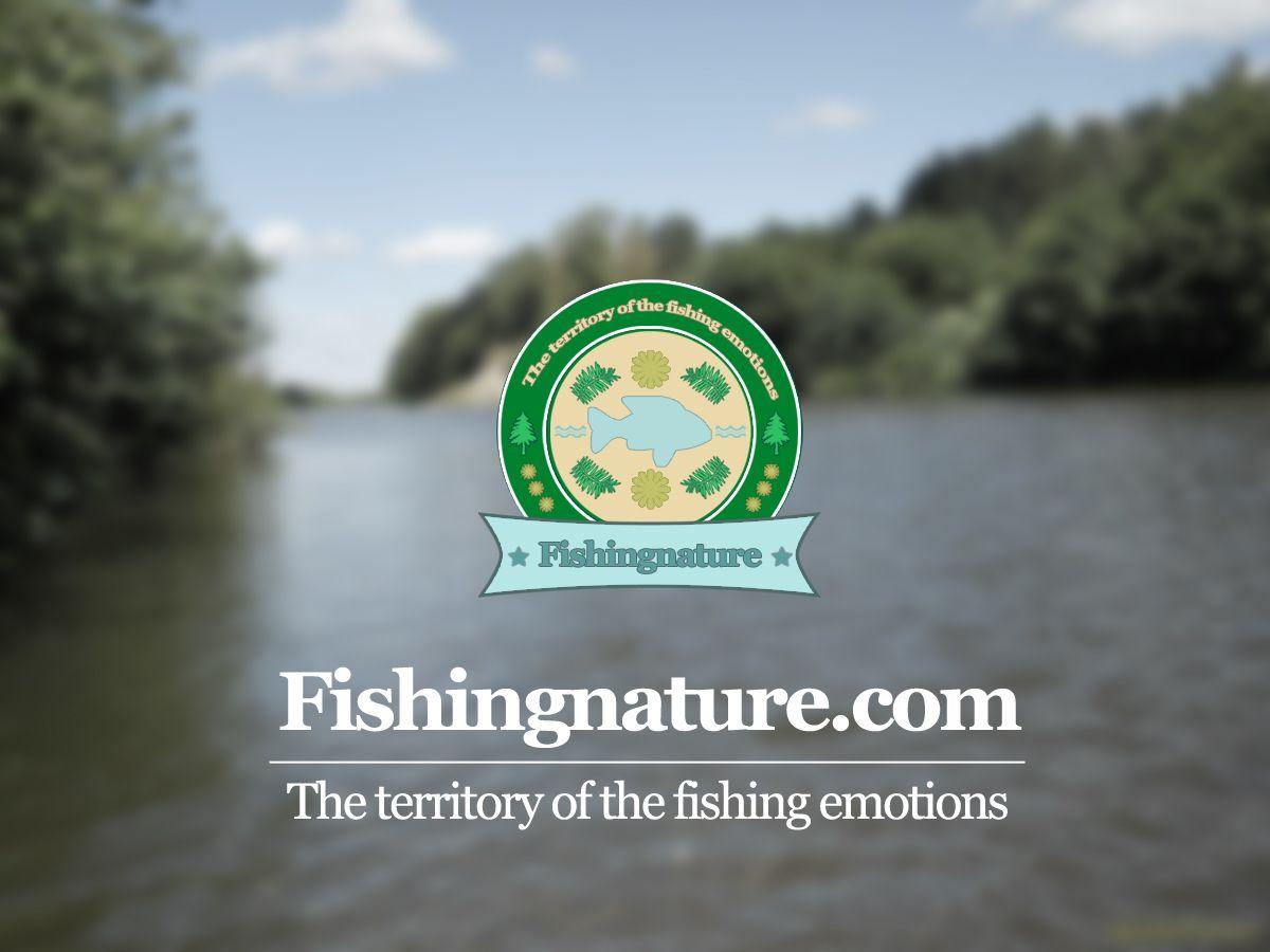 Лого он-лайн фотожурнала о рыболовстве и природе - дизайнер skiborg92