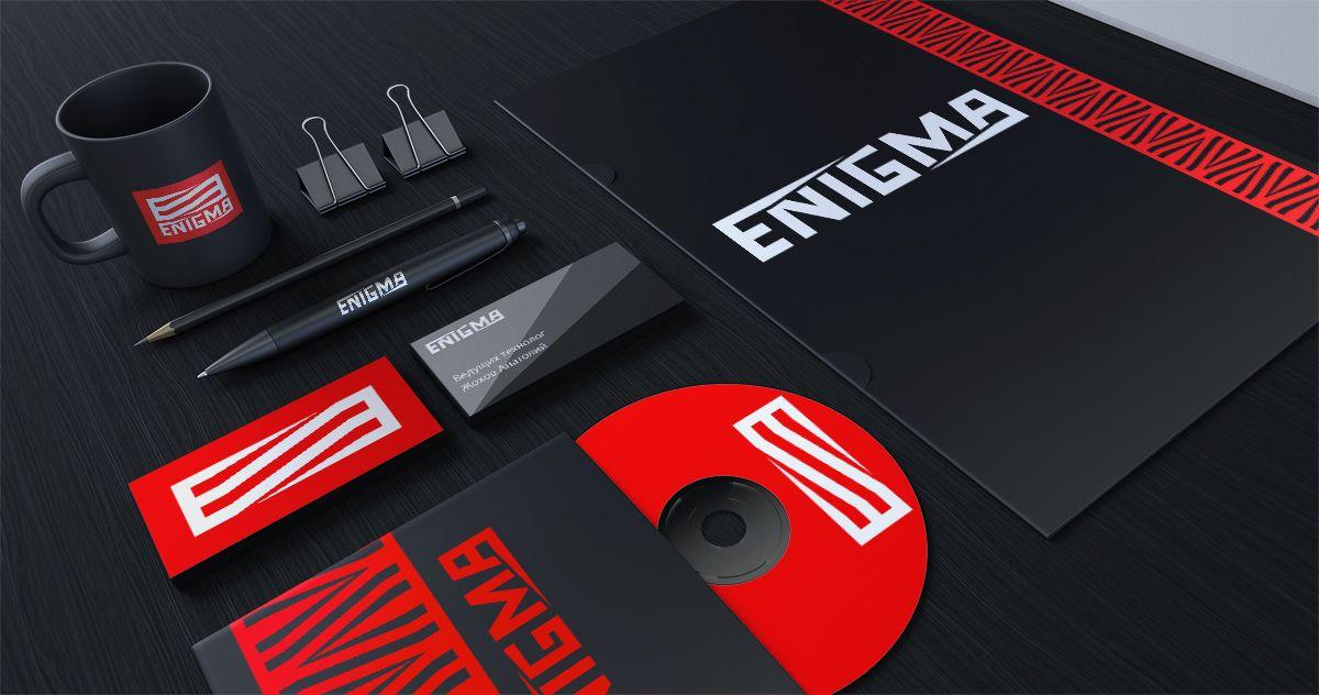 Логотип и фирмстиль для Enigma - дизайнер vision