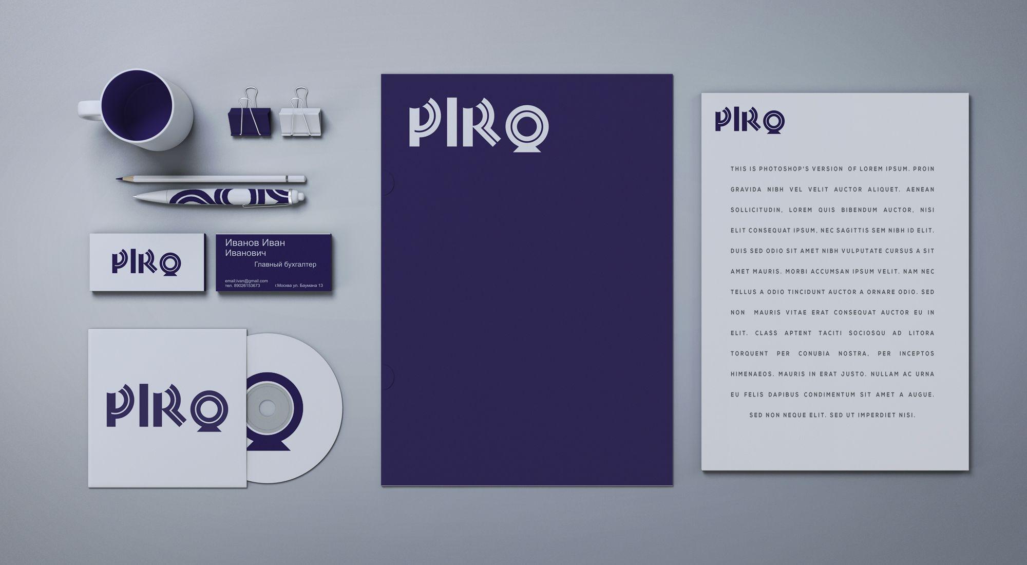 Фирменный стиль и логотип компании - дизайнер toster108