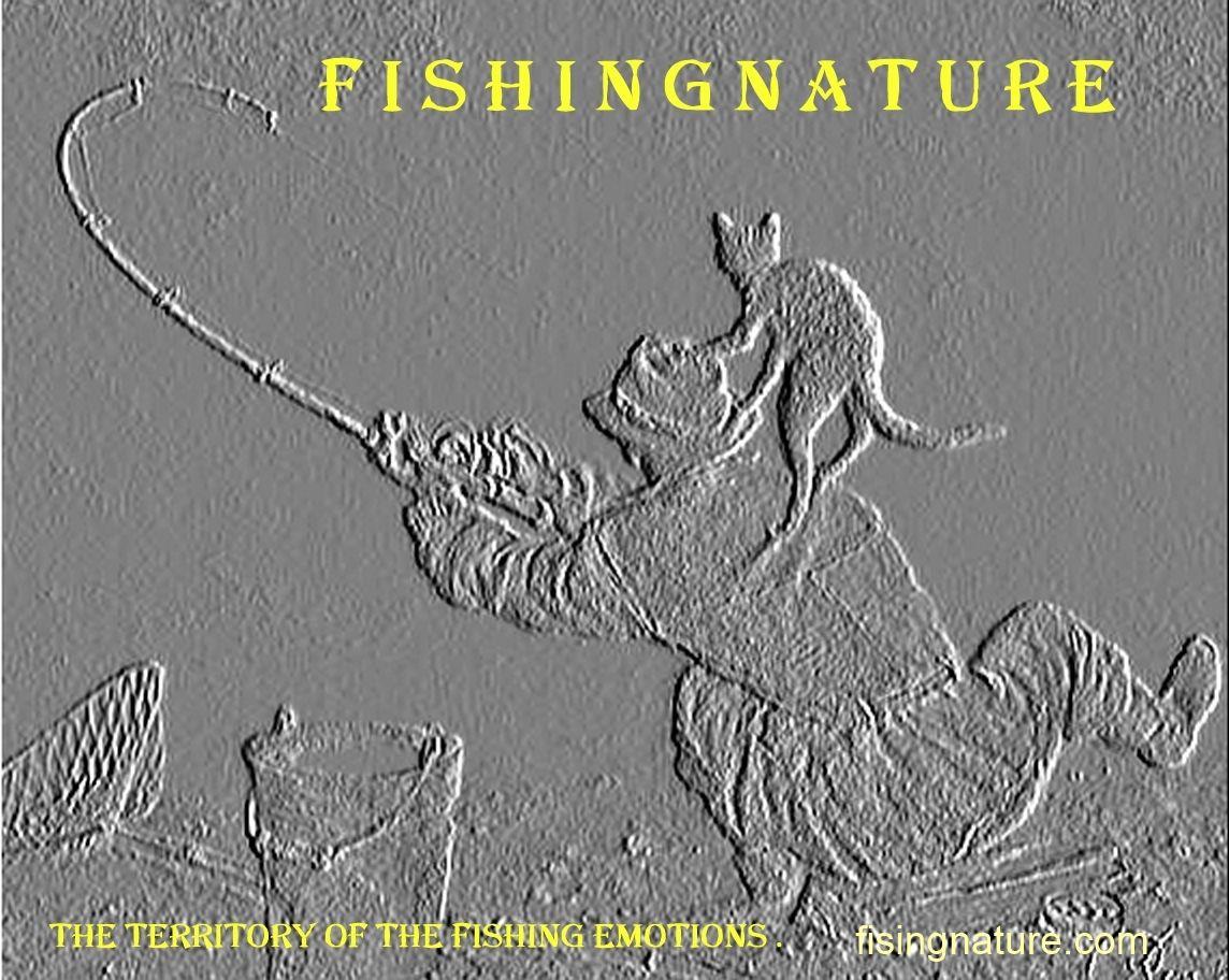Лого он-лайн фотожурнала о рыболовстве и природе - дизайнер tajmudin