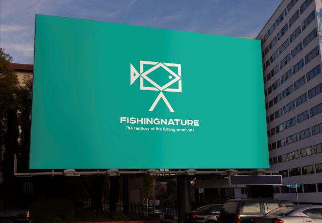 Лого он-лайн фотожурнала о рыболовстве и природе - дизайнер Richardik