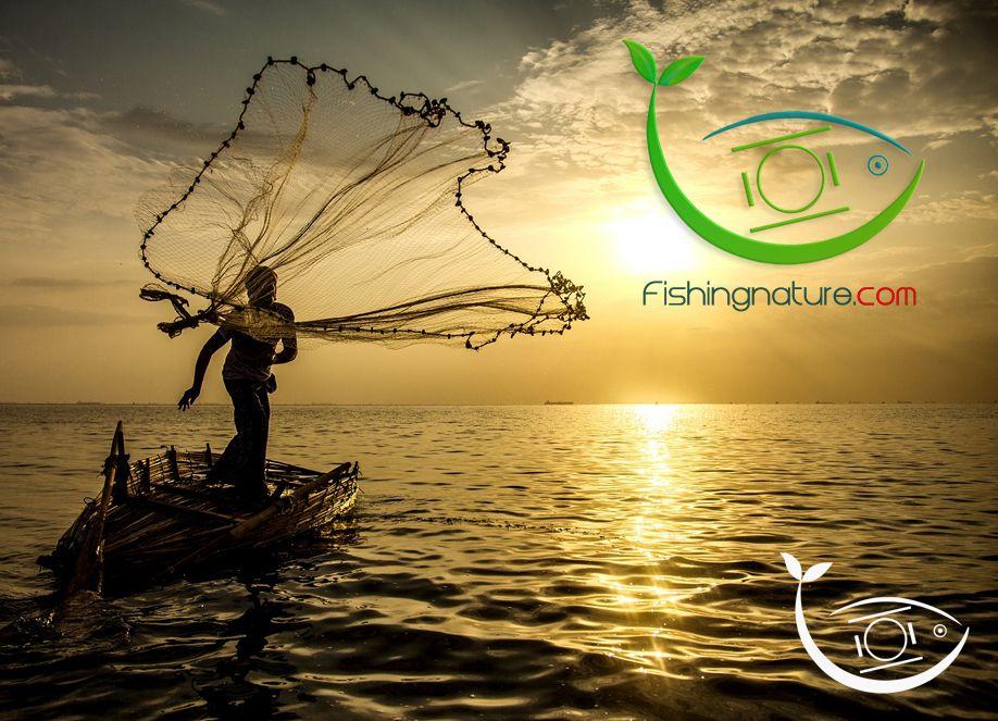 Лого он-лайн фотожурнала о рыболовстве и природе - дизайнер Keroberas