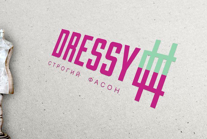разработка логотипа _производство платьев - дизайнер spirina