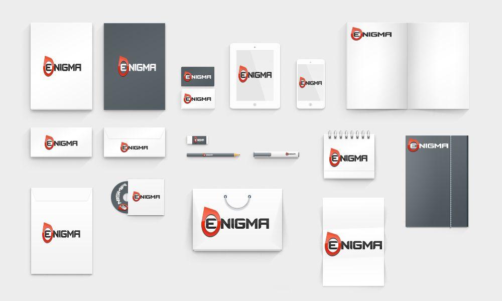 Логотип и фирмстиль для Enigma - дизайнер rivera116