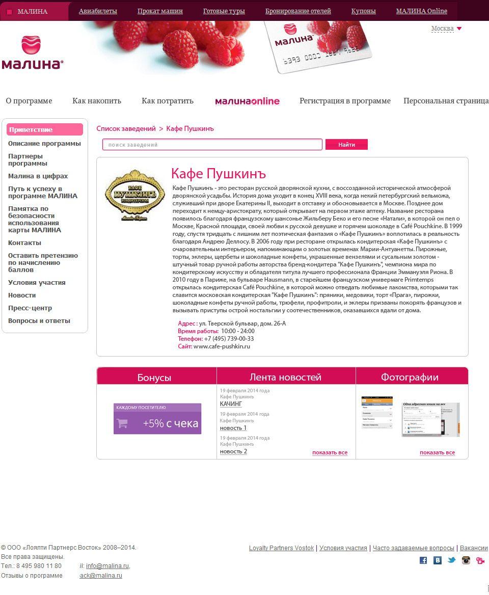 Дизайн внутренних страниц личного кабинета - дизайнер TochibanaM