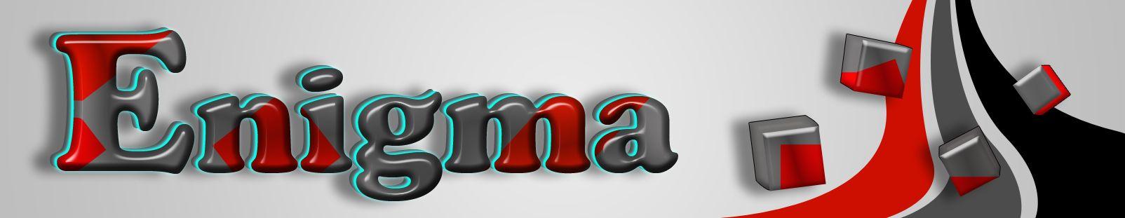 Логотип и фирмстиль для Enigma - дизайнер alex-blek