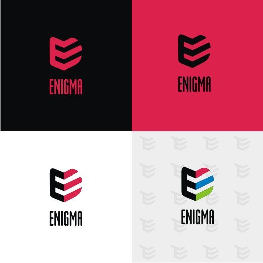 Логотип и фирмстиль для Enigma - дизайнер pashashama