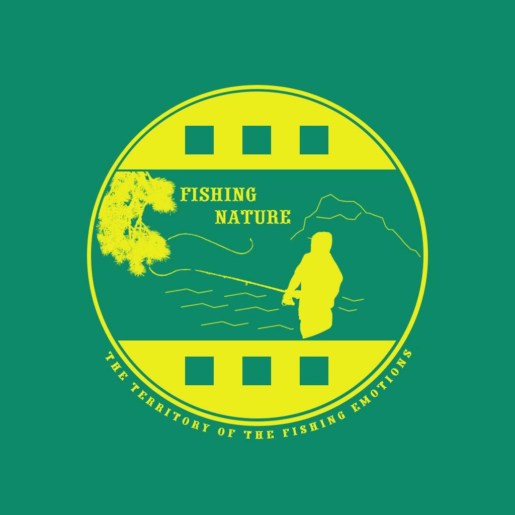 Лого он-лайн фотожурнала о рыболовстве и природе - дизайнер Disarming_Frost