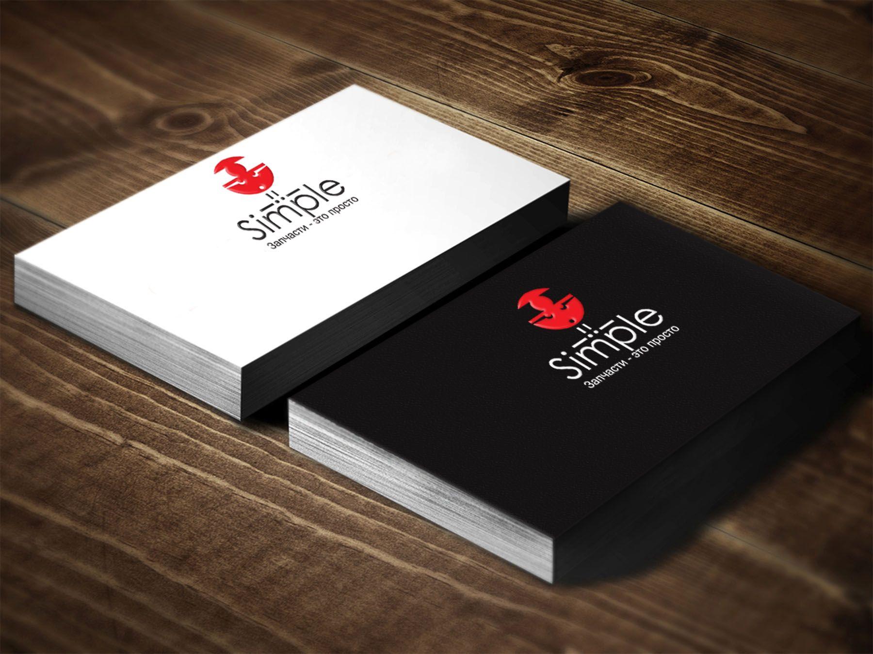 Лого для Simple. Компания по продаже автозапчастей - дизайнер LiXoOnshade