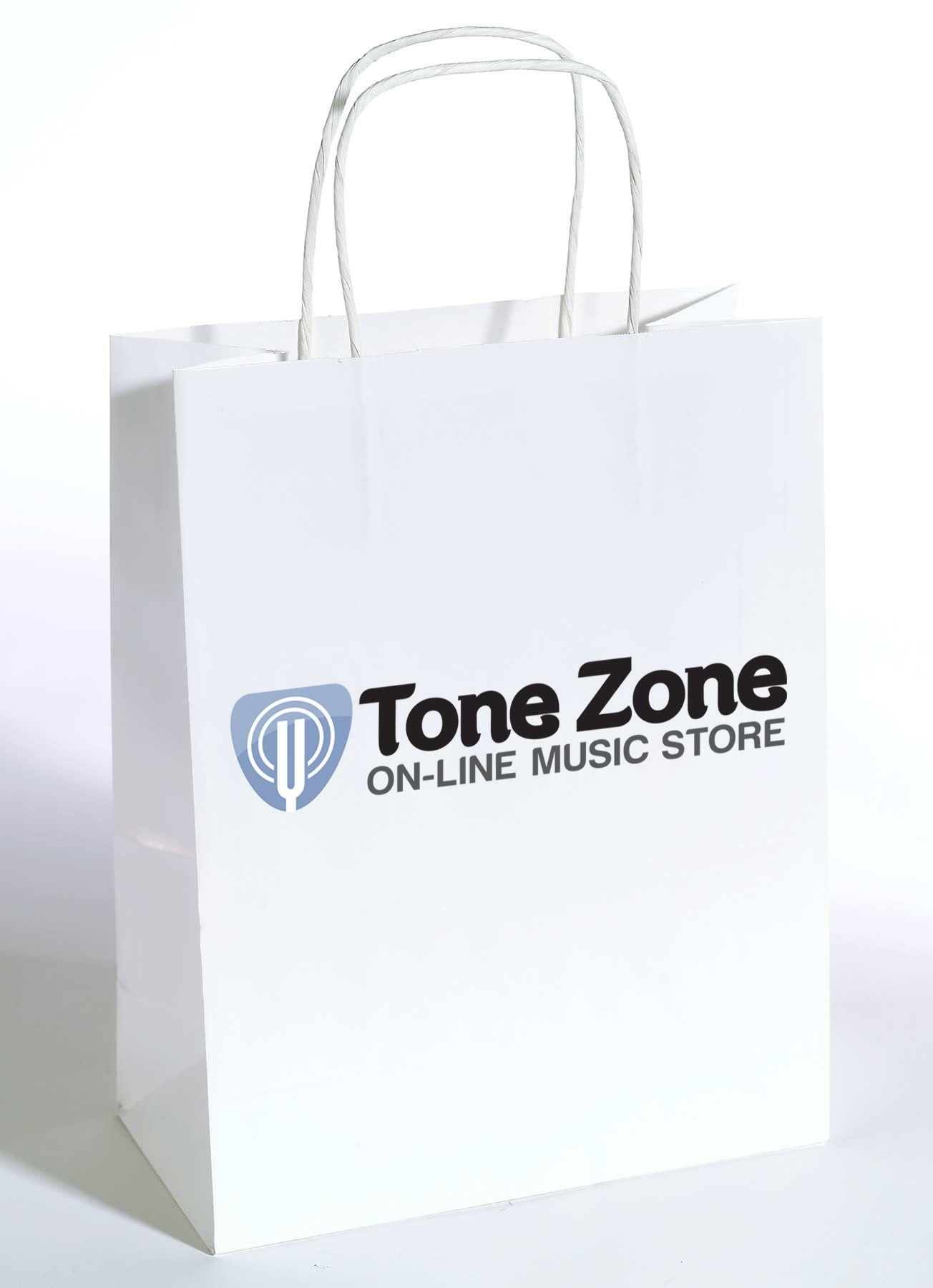 Лого и фирм. стиль инет-магазина муз. инструментов - дизайнер drawmedead