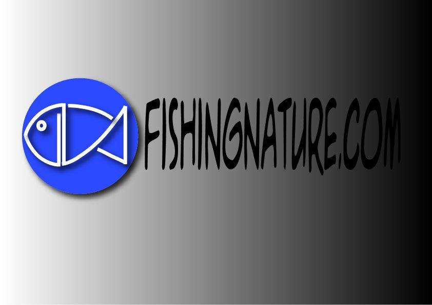 Лого он-лайн фотожурнала о рыболовстве и природе - дизайнер velo