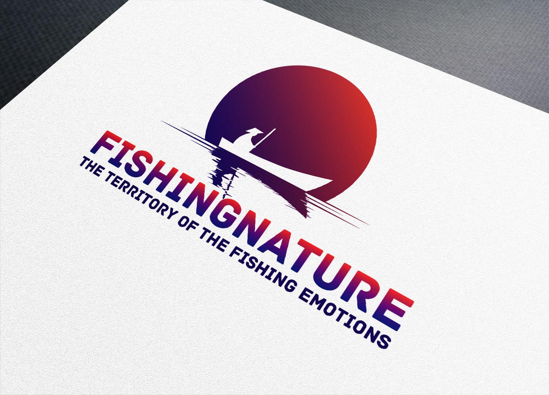 Лого он-лайн фотожурнала о рыболовстве и природе - дизайнер Patrick567