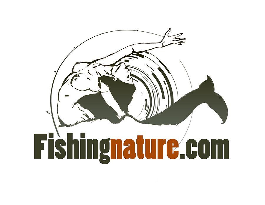 Лого он-лайн фотожурнала о рыболовстве и природе - дизайнер vavaeva