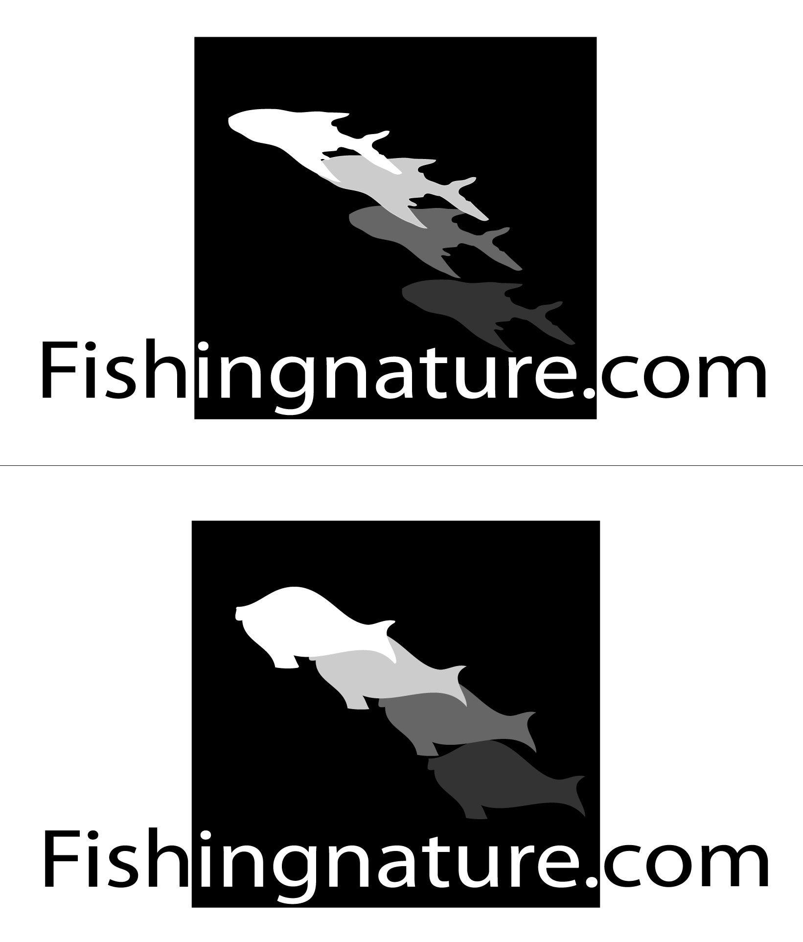 Лого он-лайн фотожурнала о рыболовстве и природе - дизайнер Serious_sight