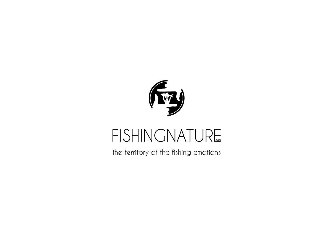 Лого он-лайн фотожурнала о рыболовстве и природе - дизайнер composter