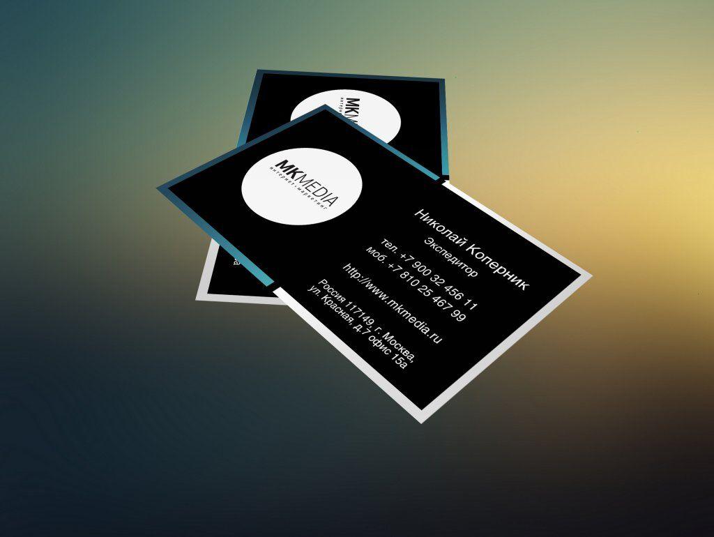 Разработка дизайна визитной карточки - дизайнер Keroberas