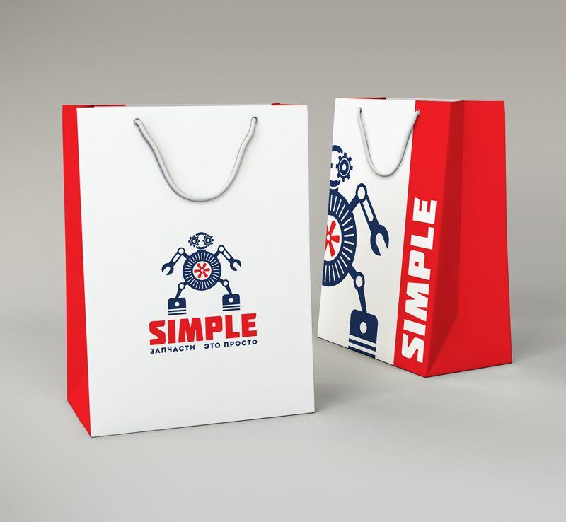 Лого для Simple. Компания по продаже автозапчастей - дизайнер GRANDXX