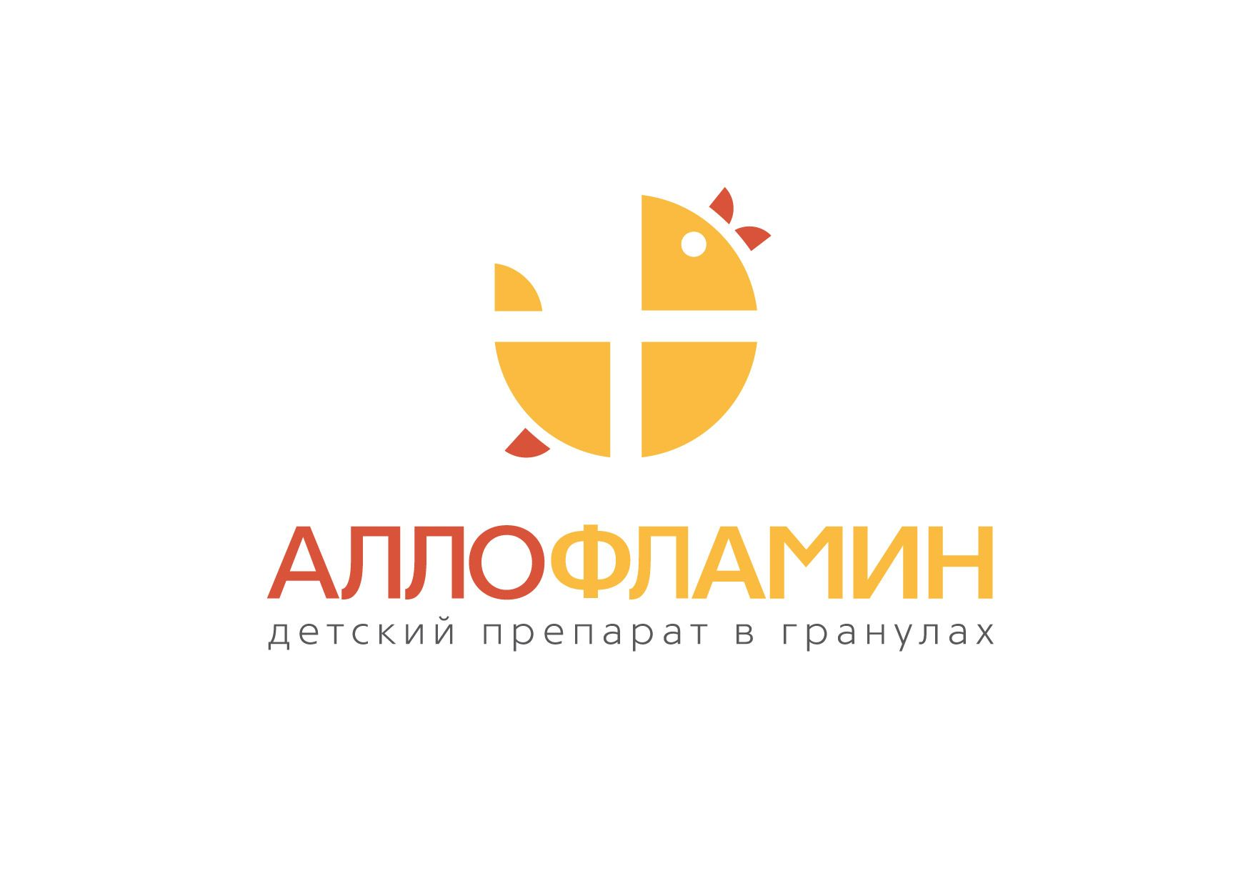 Логотип препарата Аллофламин - дизайнер igor_kireyev