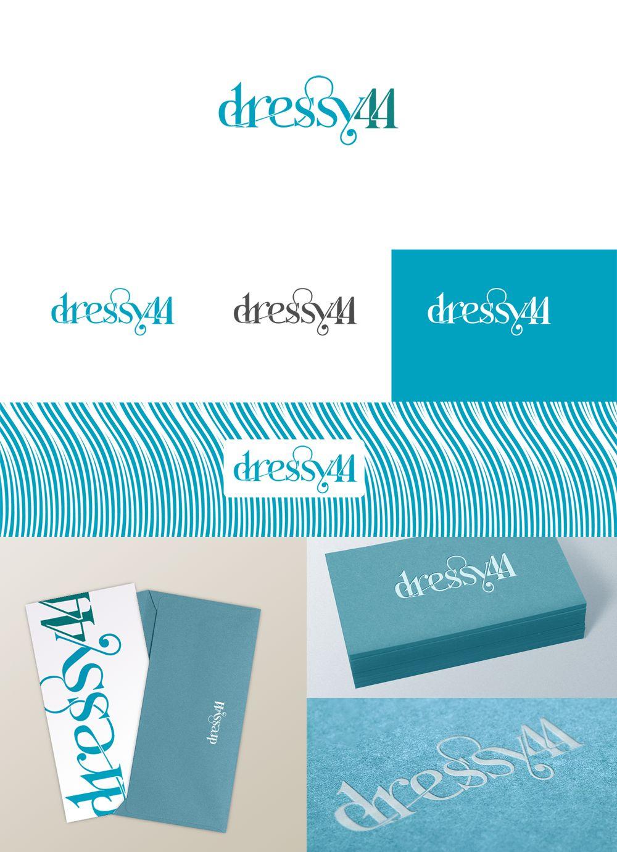 разработка логотипа _производство платьев - дизайнер bromo