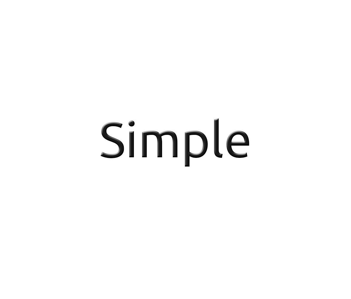 Лого для Simple. Компания по продаже автозапчастей - дизайнер Gcor