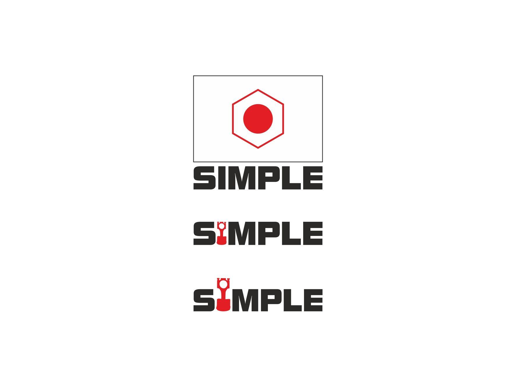 Лого для Simple. Компания по продаже автозапчастей - дизайнер VictorBazine