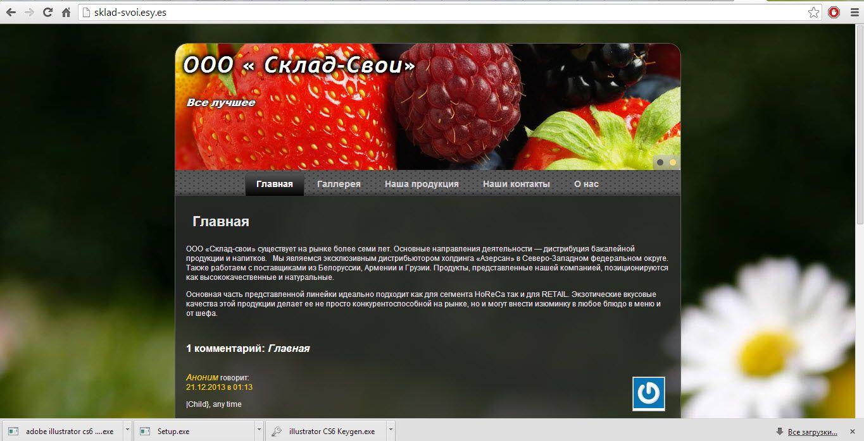 Адаптивный дизайн главной сайта (под мобилки) - дизайнер Gen_1
